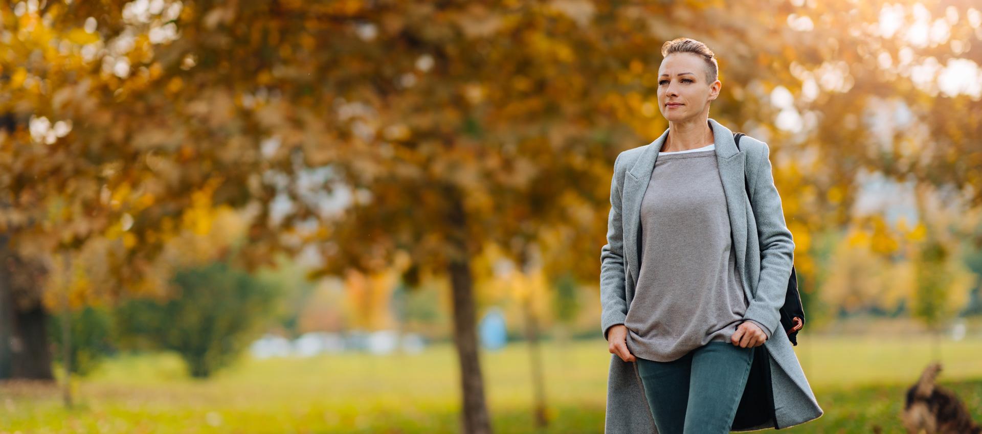 Herbst-Frau