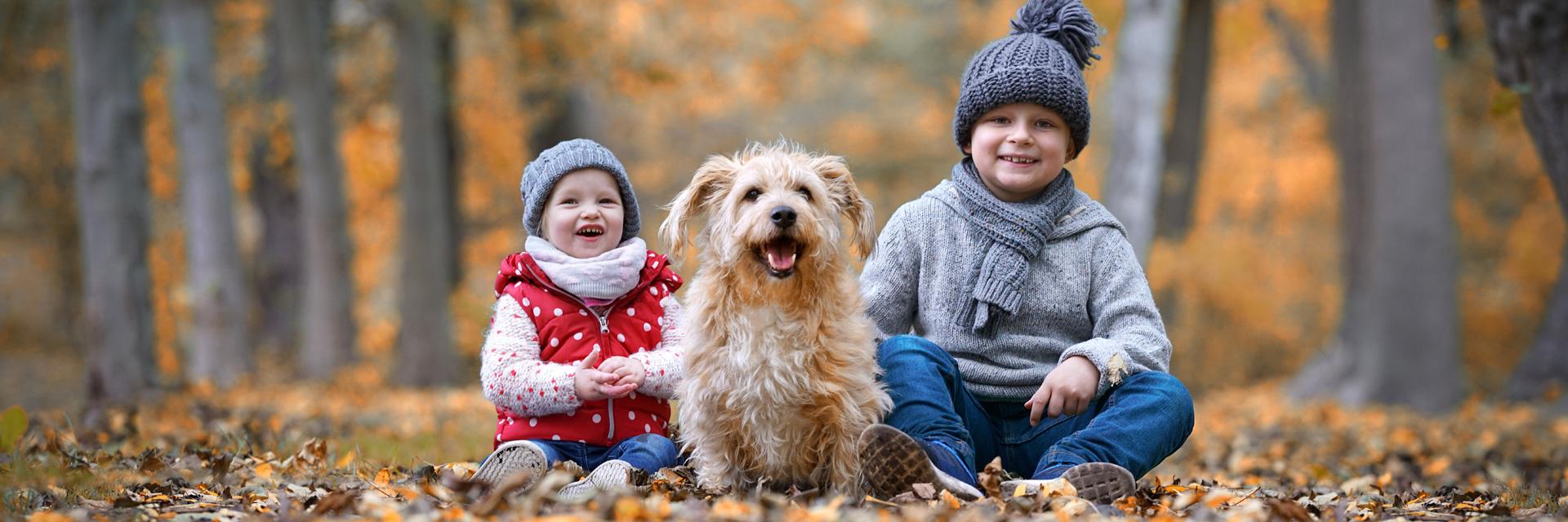 Herbst-Kinder